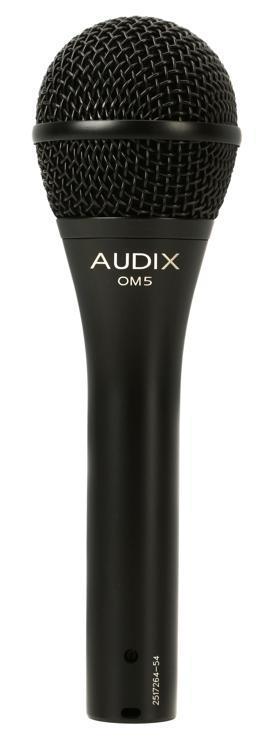 Audix OM-5 Hypercardioid Dynamic Vocal Microphone