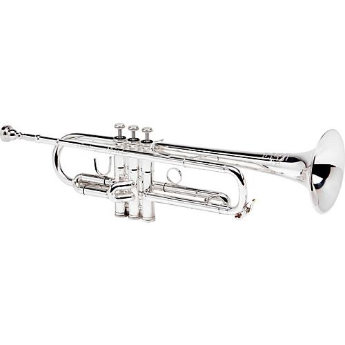 B&S Challenger II Bb Trumpet Silver