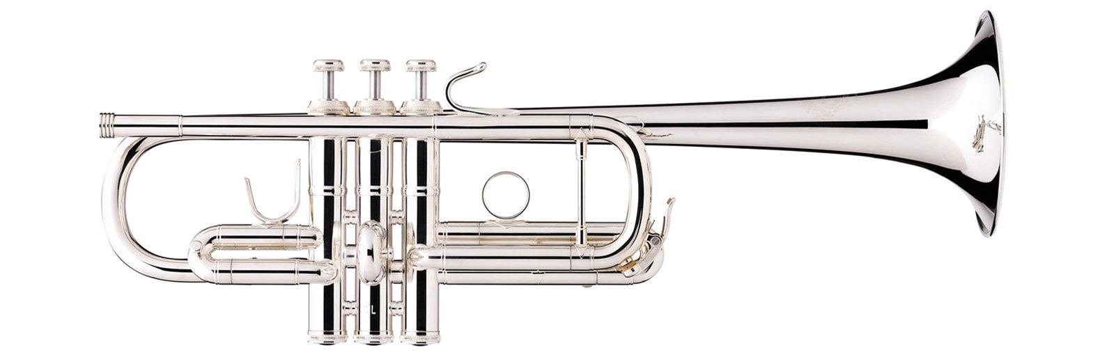 B&S Metropolitan Series C Trumpet- Silver