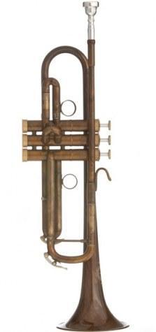 B&S X- Series MBX Heritage Bb Trumpet-Vintage Finish