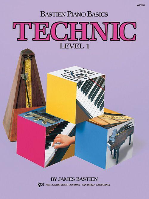 Bastien Piano Basics: Level 1 - Technic