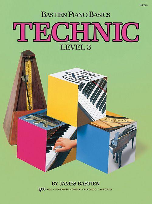 Bastien Piano Basics: Level 3 - Technic