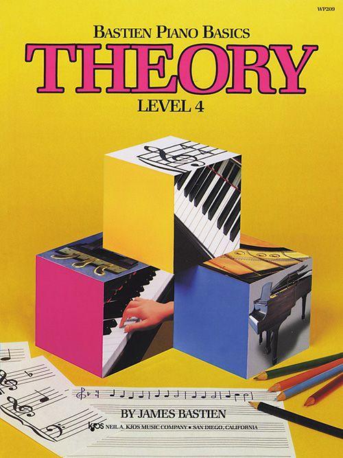 Bastien Piano Basics: Level 4 - Theory