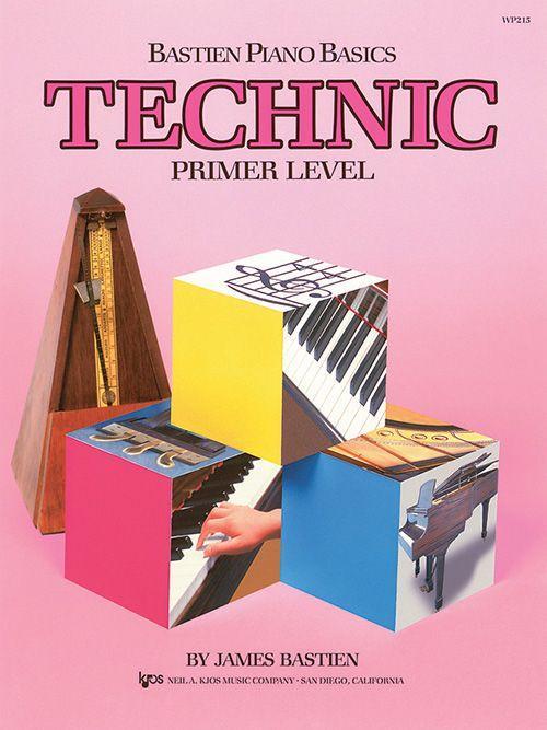 Bastien Piano Basics: Primer Level - Technic