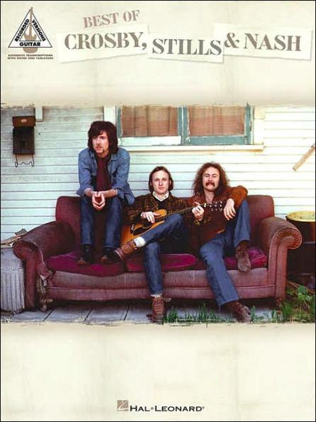 Best of Crosby Stills and Nash Book