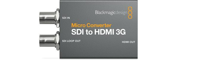Black Magic Design Micro Converter HDMI to SDI