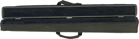 Bobelock Bow Case for 2 German Bows - Red Interior
