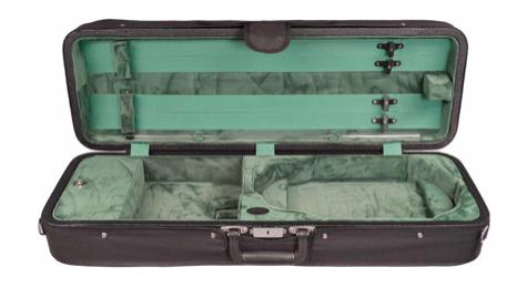 Bobelock Featherlite Oblong Suspension Velvet Violin Case (B1003FAVS)