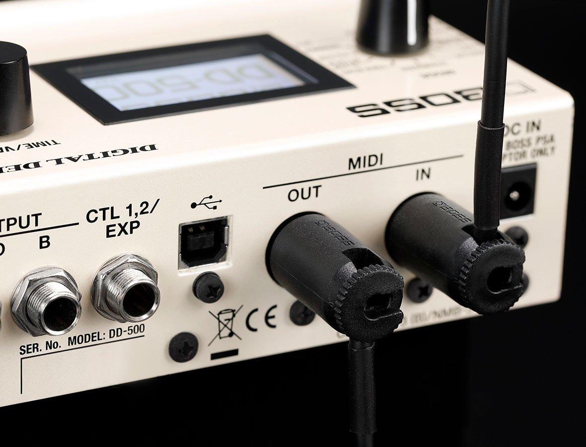 Boss BMIDI-PB3 Multi-Directional Midi Cable 3ft