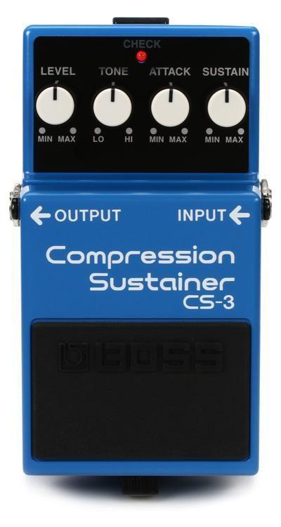 Boss CS-3 Compressor Sustainer Pedal
