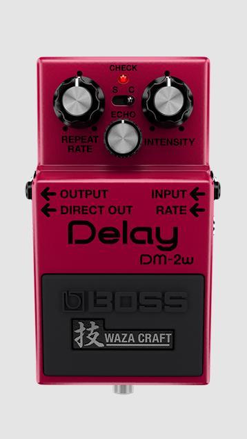 Boss DM-2w Waza Craft Analog Delay Guitar Pedal