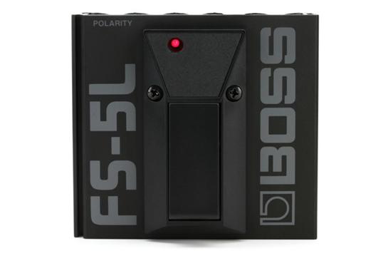 Boss FS-5L Latching Single Button Footswitch Black