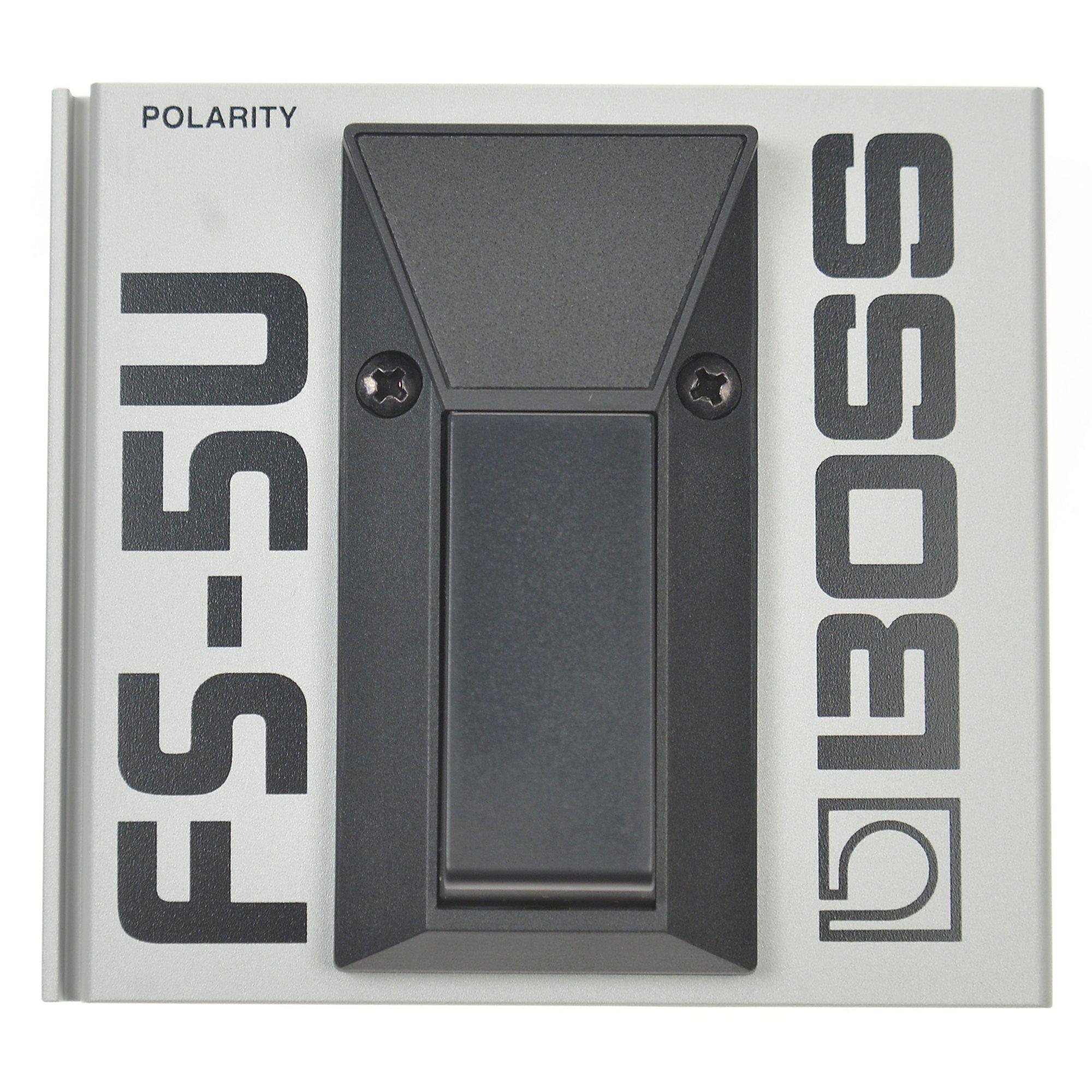 Boss FS-5U Unlatching Single Button Footswitch Silver