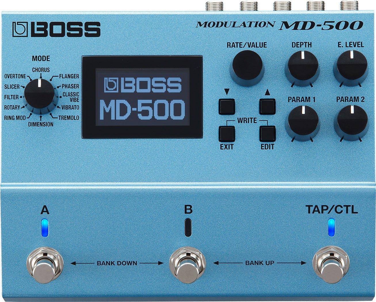 Boss MD-500 Modulation Guitar Pedal