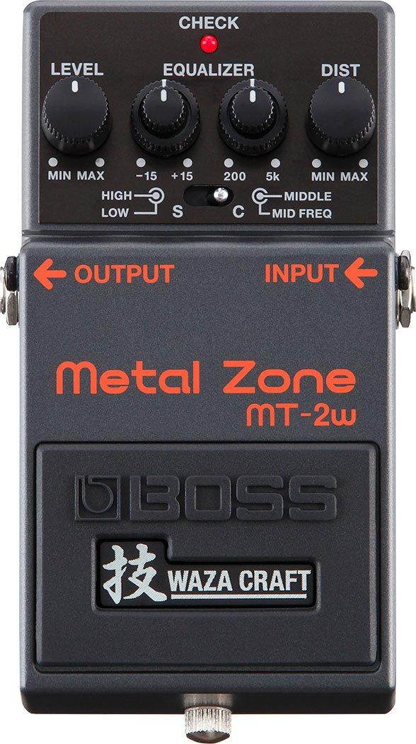 Boss MT-2w Waza Craft Metal Zone Pedal