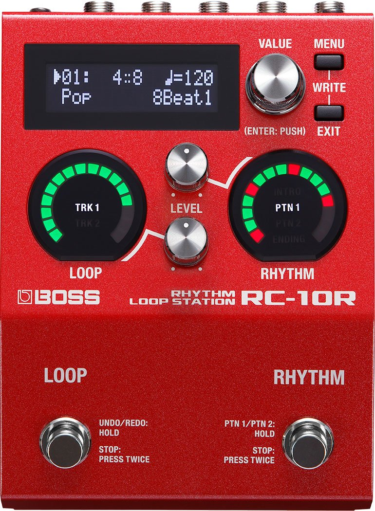 Boss RC-10R Rhythm Loop Station Looper Pedal