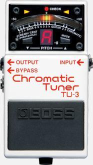 Boss TU-3 Chromatic Tuner Pedal