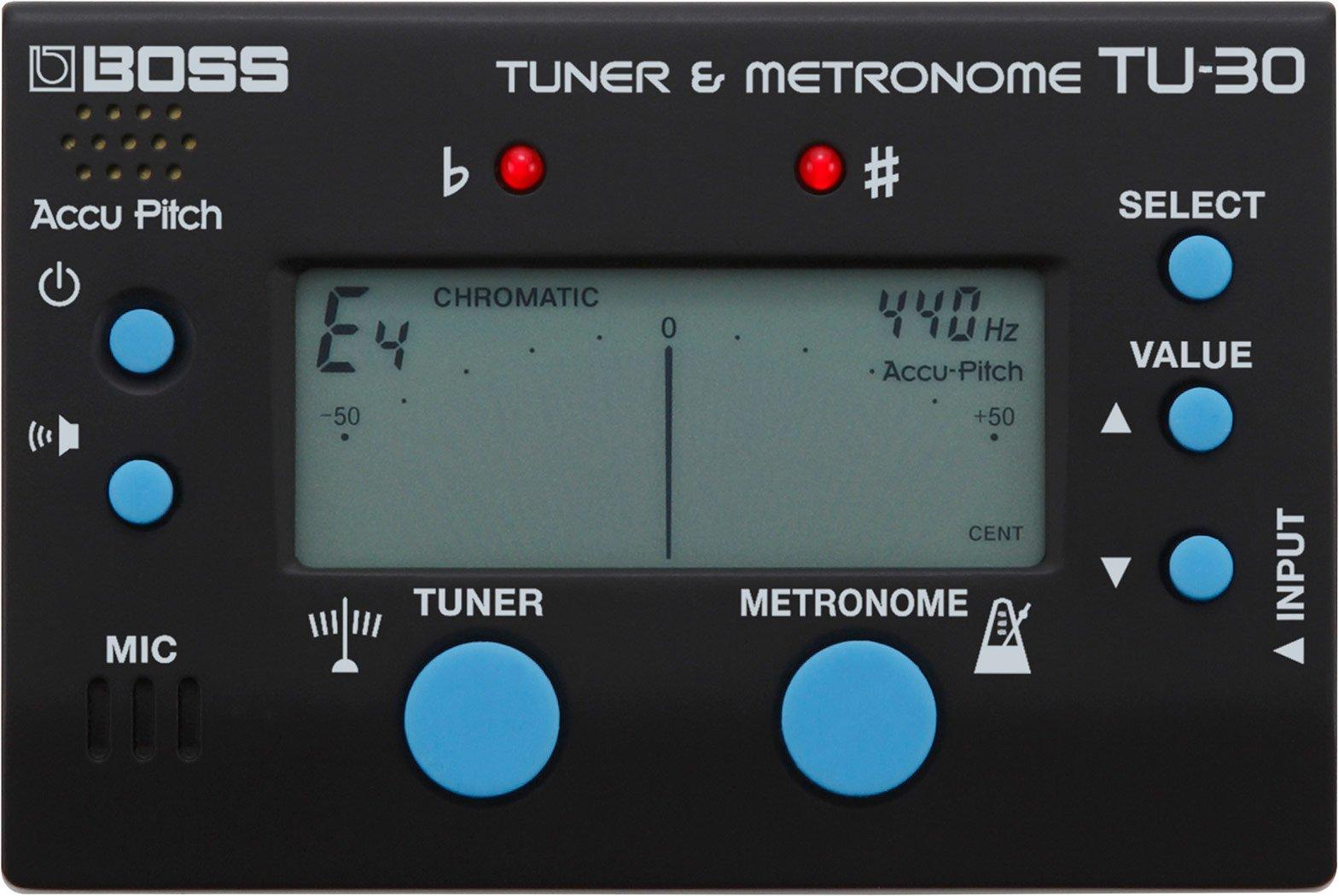 Boss TU-30 Tuner & Metronome Combo