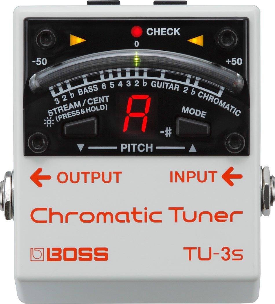 Boss TU-3S Tuning Pedal