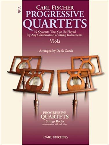 Carl Fischer Progressive Quartets for Strings - Viola