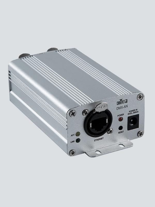 Chauvet DJ DMX-AN 2 Art-Net/sACN Node Ethernet to 2 DMX Universe