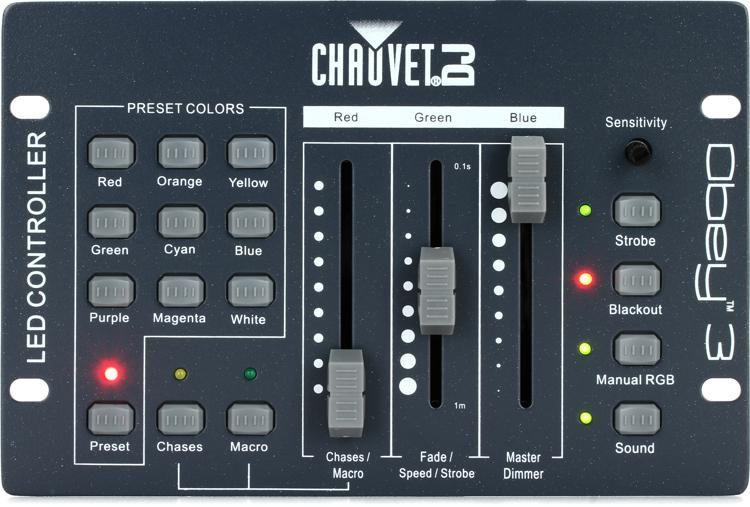 Chauvet Obey 3 Lighting Controller