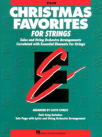 Christmas Favorites for strings - Violin
