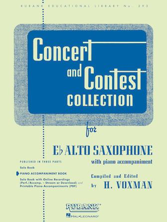 Concert and Contest Collection for Eb Alto Saxophone