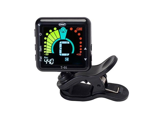 Cool Rechargeable Magnetic Clip-on Tuner
