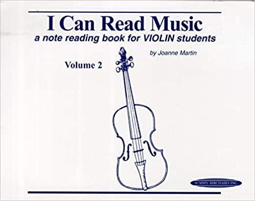 Copy of I Can Read Music Vol 2: Violin