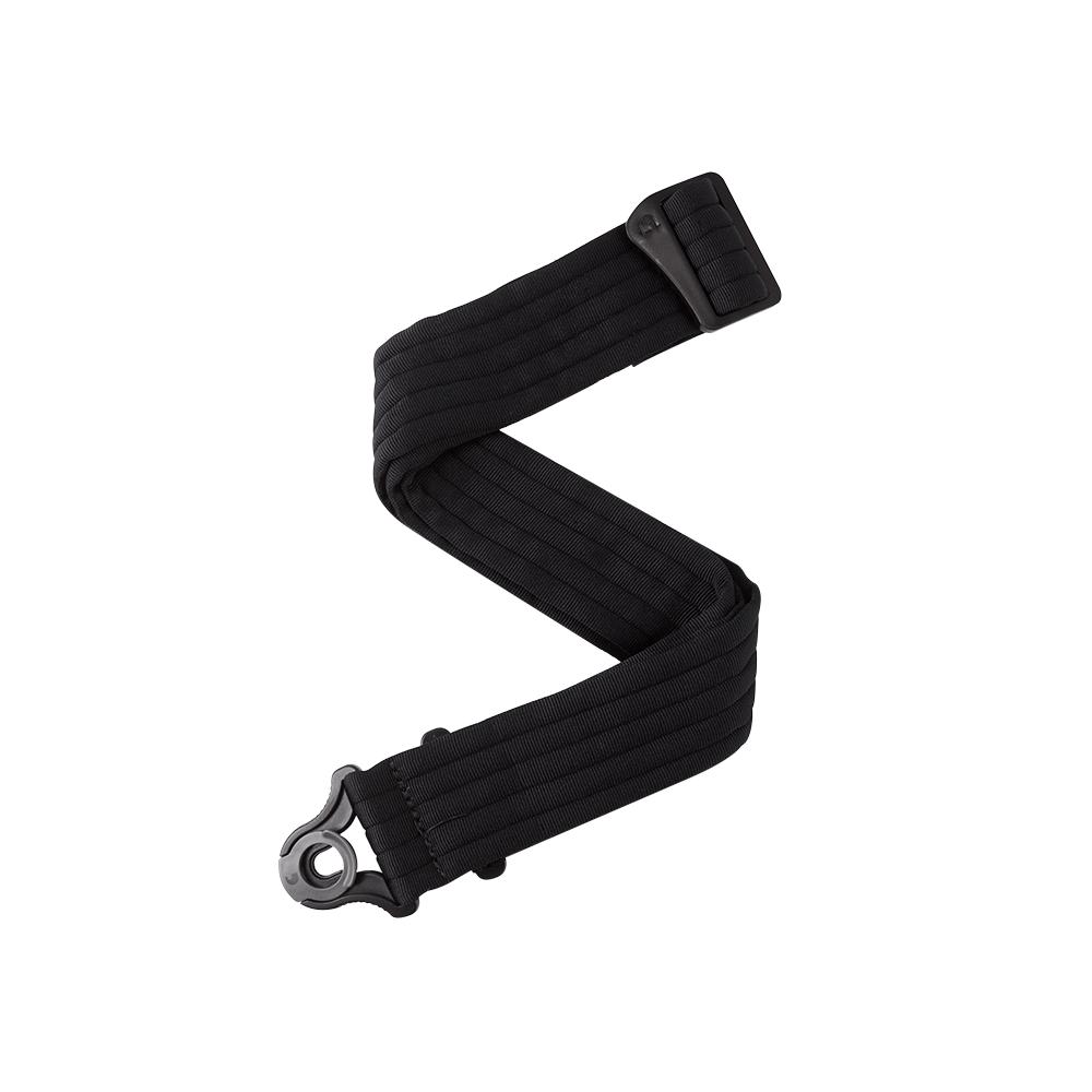 DAddario Auto Lock Guitar Strap Black Padded Stripes