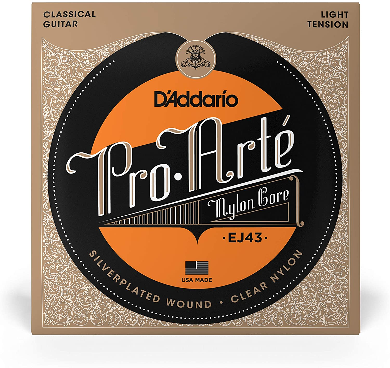 DAddario EJ43 Pro-Arte Nylon Classical Guitar Strings Light Tension