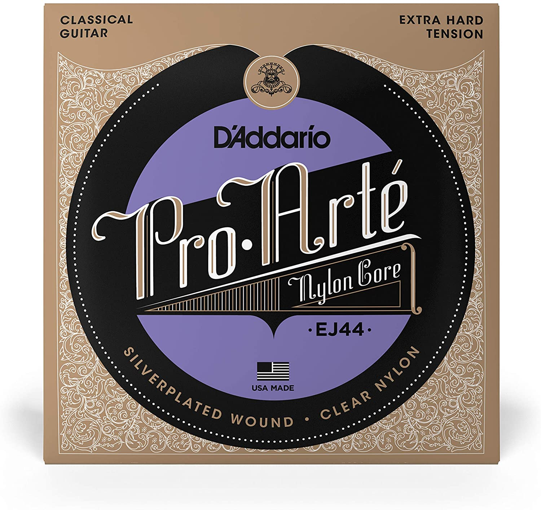 DAddario EJ44 Nylon Pro Arte Extra Hard Tension Classical Guitar Strings