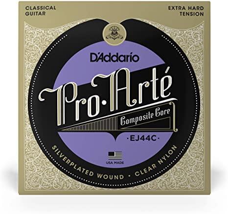 DAddario EJ44C Pro-Arte Composite Classical Guitar Strings Extra-Hard Tension