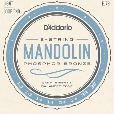 D'Addario EJ73 Light Gauge Mandolin Strings