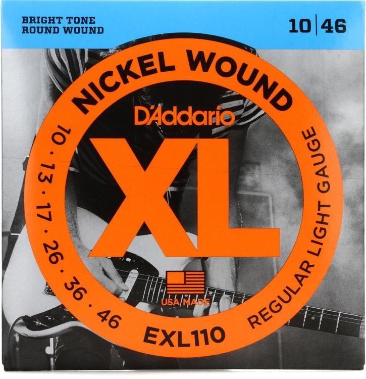 DAddario EXL110 Electric Guitar Strings 10-46