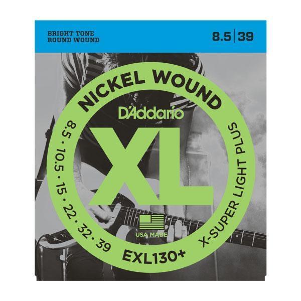 DAddario EXL130+ Electric Guitar String Set 8.5-39