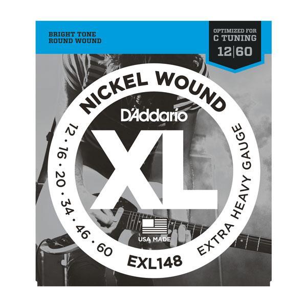 DAddario EXL148 Electric String Set .012-.060