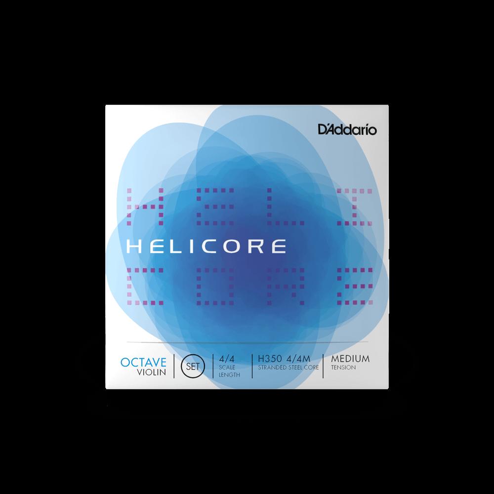 DAddario Helicore Violin Strings 4/4 Medium