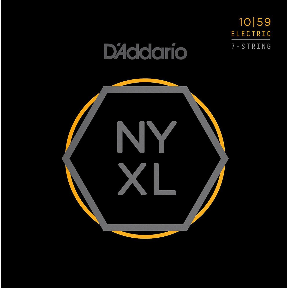DAddario NYXL1059 7-String Electric Guitar Strings 10-59