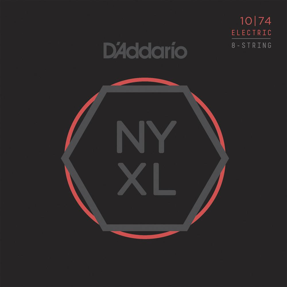 DAddario NYXL1074 8-String Electric Guitar Strings