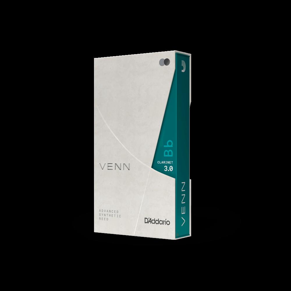 DAddario VENN Bb Clarinet Reed 1 Pack 3.0