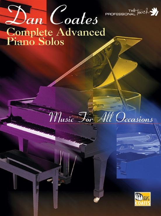 Dan Coates Complete advanced piano solos