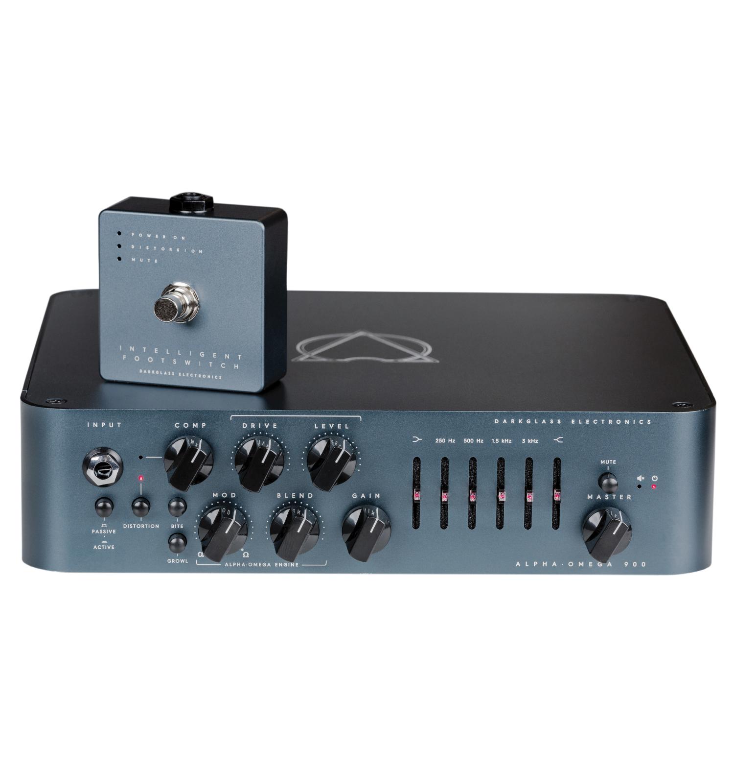 Darkglass Alpha Omega 900W Bass Amplifier