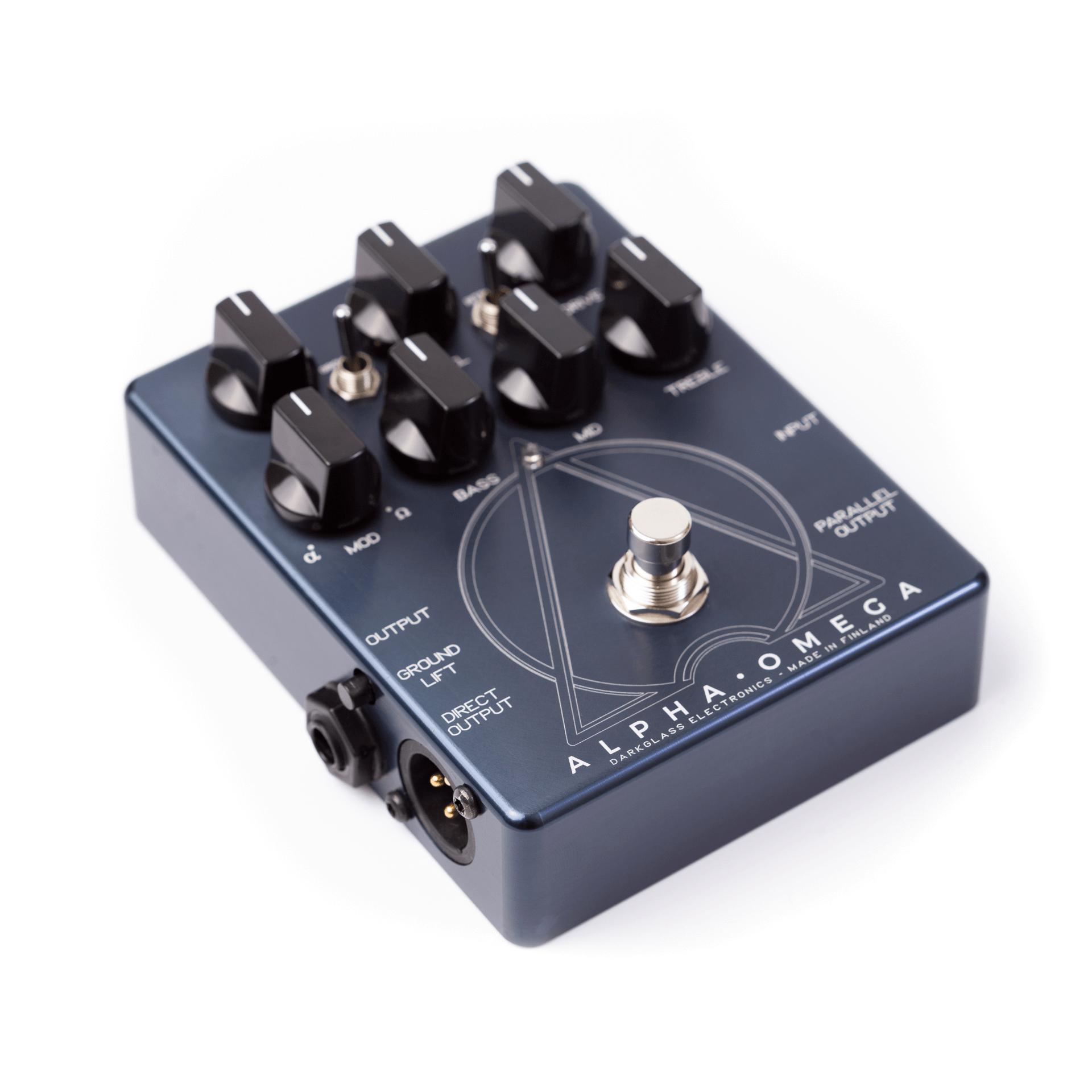 Darkglass Alpha Omega Bass Preamp Pedal