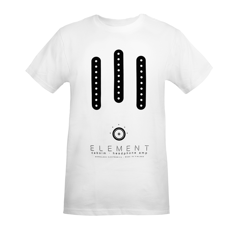 Darkglass Element T-Shirt White- Large