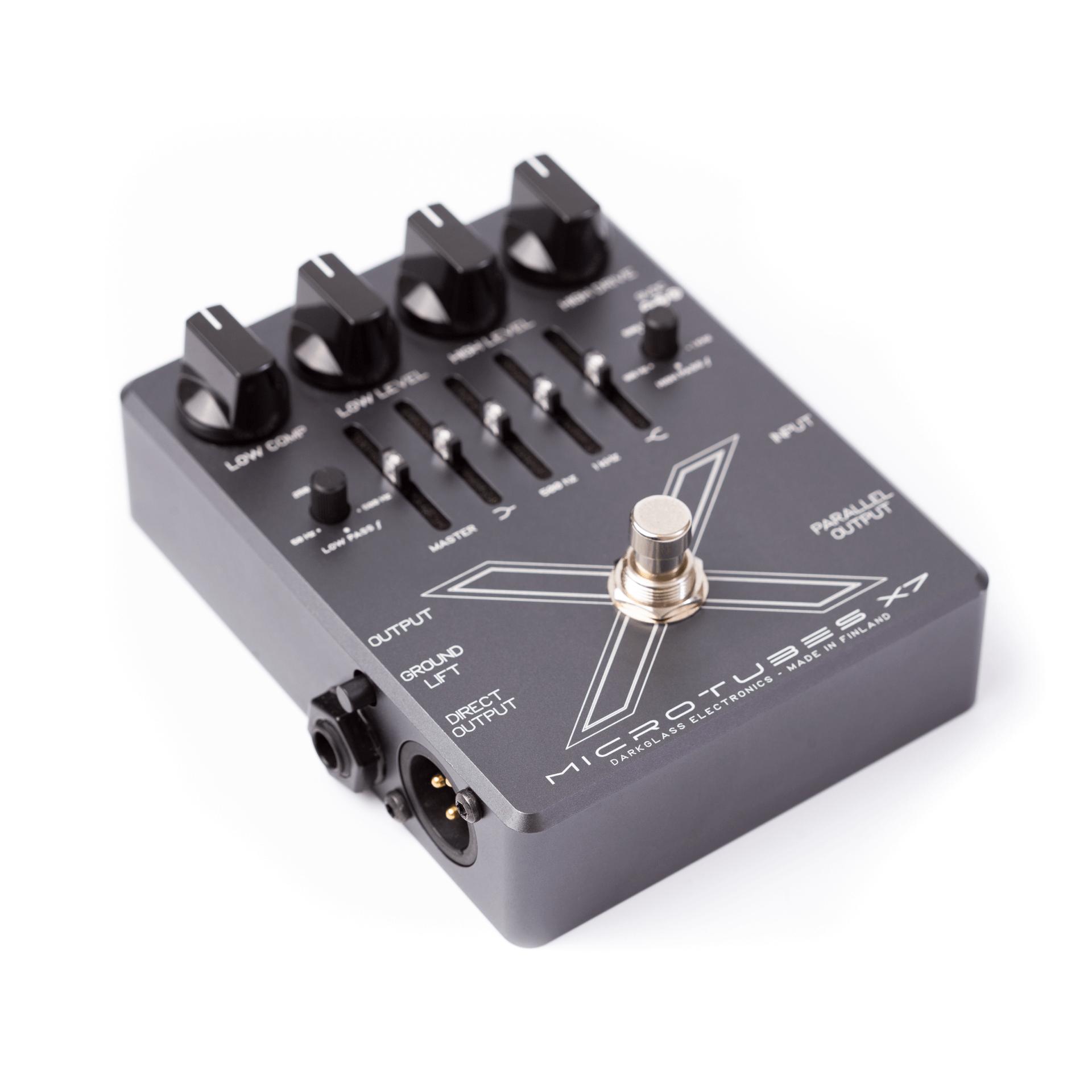 Darkglass Microtubes X7 Bass Preamp Distortion Pedal