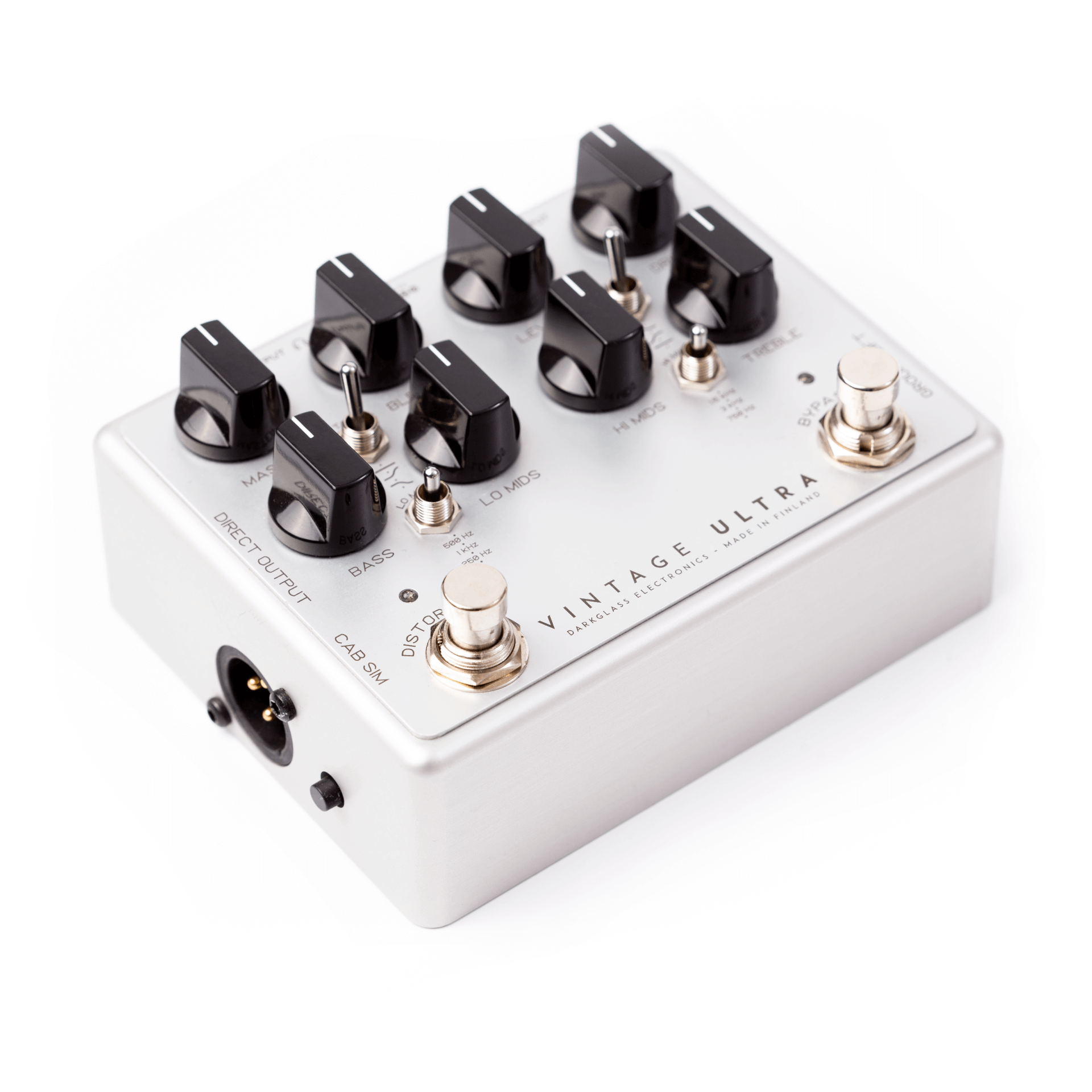 Darkglass Vintage Ultra 2.0 Bass Preamp Pedal (Aux In)