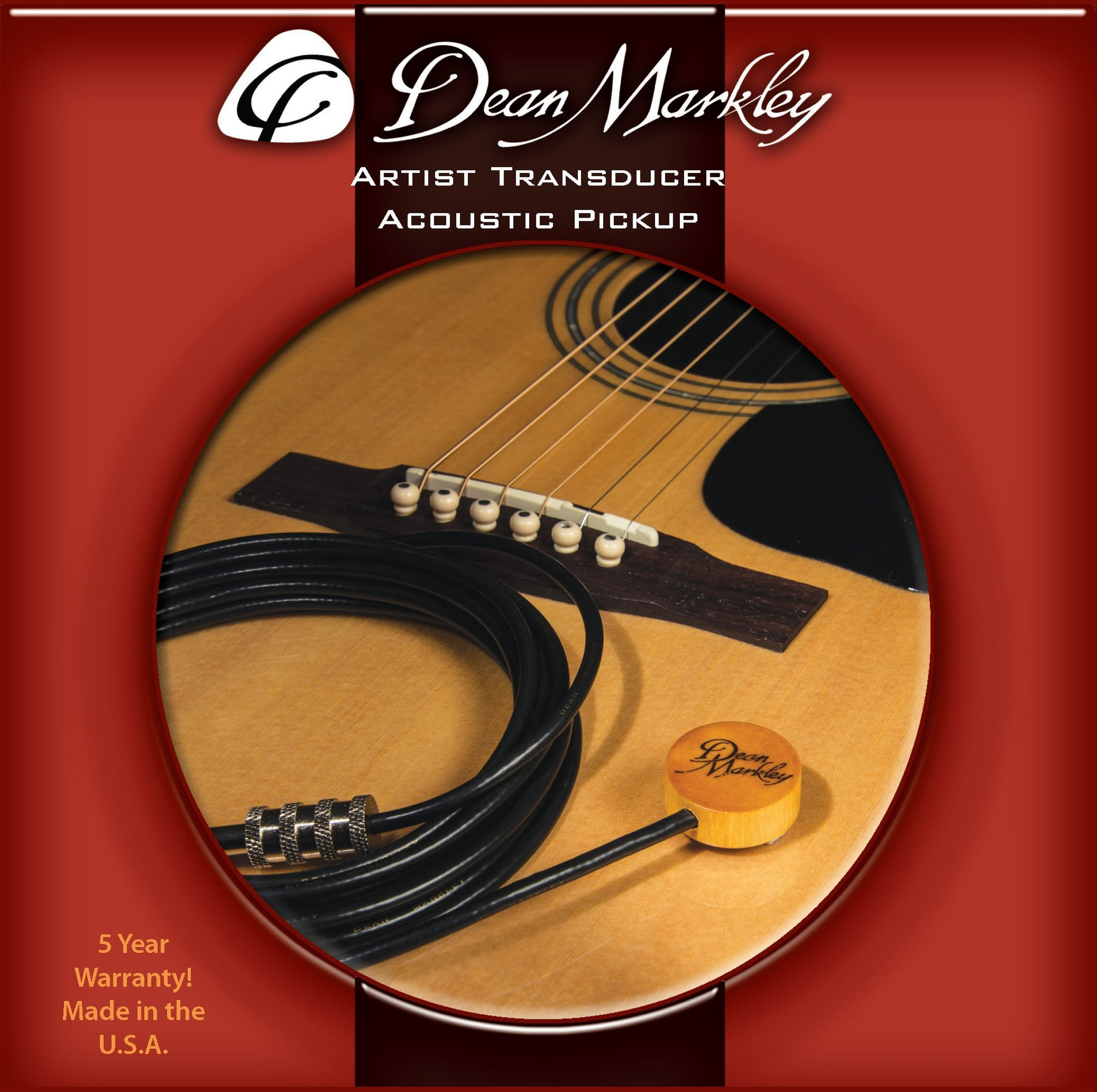 Dean Markley 3001 Artist XM Transducer Acoustic Pickup