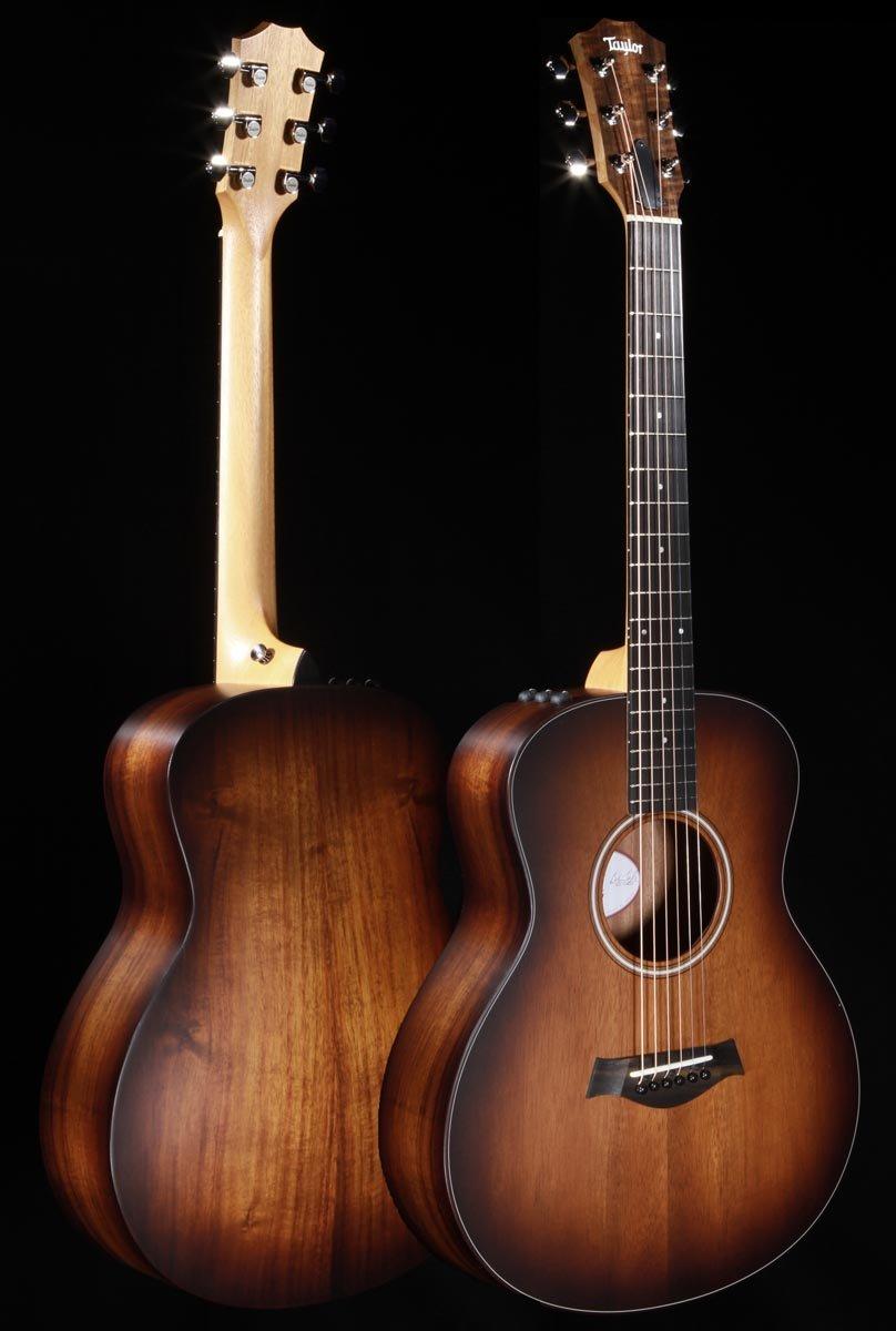 Taylor GS Mini-e Koa Plus Acoustic/Electric Guitar - Demo